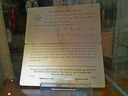 The WW1 Clearance Certificate